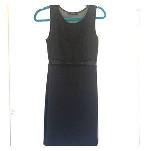 Black Cutout Mini-dress